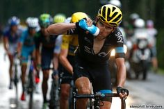 Team Sky and Chris Froome are dominating the Tour de France but surrounded by suspicion. Geraint Thomas Cycling, Millwall Fc, Chris Froome, Color Effect, Colour, Leeds United, Sports Images, Arsenal Fc, Unique Image