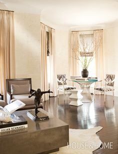 Chic & Romantic Living Room - House & Home