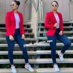 Ankara Styles, Ads, Blazer, Jackets, Instagram, Women, Fashion, Down Jackets, Moda