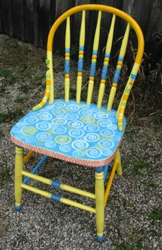 whimsikatz Hand Painted Furniture