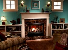 Heatilator Reveal Gas Fireplace Vented Fireplaces House Projects Hearth