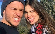 Camila Queiroz e Klebber Toledo ficam noivos durante festa Lovers, Angel, In This Moment, Couple Photos, Couples, Instagram, Girls, Hair, Relationship Goals