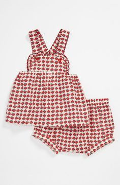 Stella McCartney 'Olivia' Dress & Bloomers (Infant) available at #Nordstrom