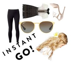 """""""Untitled #22"""" by punkie707 ❤ liked on Polyvore featuring self-portrait, Jockey, Charlotte Russe, ASOS and Ray-Ban"""