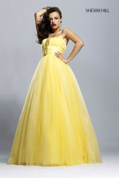 yellow dresses | Prom Mafia» Blog Archive » Yellow Prom Dresses