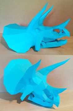 Triceratops Skull Papercraft by Gedelgo on DeviantArt