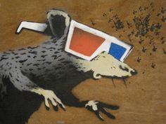 rat attack | bansky