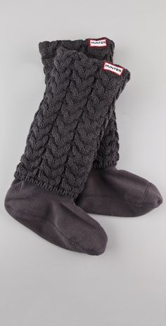 Warmth. Hunter Boots Long Cuff Welly Socks Ideales para las botas de lluvia Hunter!!