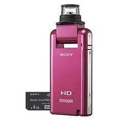 Sony Bloggie MHS-PMK/P HD Pocket Camcorder with 4GB Memory & 360 Degree Lens