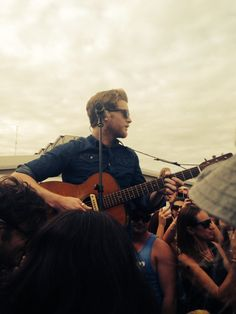 Wesley Schultz of The Lumineers