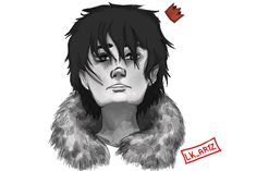 Nico di Angelo! Made by my LK_ARTZ account on insta.