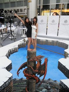 The Largest 3D - Drawing in the World (11)