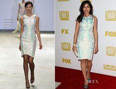 Freida Pinto In Antonio Berardi – Fox Searchlight 2013 Golden Globe Awards Party