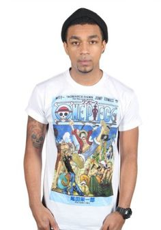 in S One Piece Straw Hat Pirate Crew's Graphic T-Shirt Party Anime Comic Clothing: Amazon.de: Bekleidung