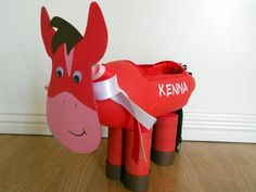 horse valentine box   Last Minute Valentine's Ideas {or Inspiration to tuck away for next ...
