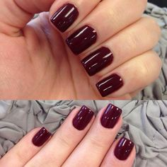 OPI GelColor Fall 2013 | OPI GelColor Malaga Wine.. Love for fall