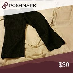 Gap ankle length jeans Gap ankle length jeans, 1 pair black, 1 white GAP Jeans Ankle & Cropped