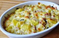 Ce a mai gatit Timea...: Cartofi cu mozzarella la cuptor