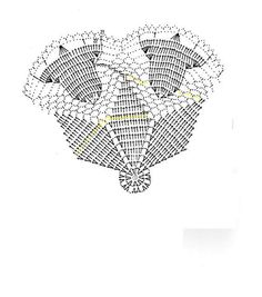 New Crochet Lace Doily Pattern Charts Ideas Crochet Christmas Decorations, Crochet Ornaments, Christmas Crochet Patterns, Holiday Crochet, Crochet Doily Patterns, Crochet Chart, Crochet Doilies, Filet Crochet, Crochet Kids Scarf