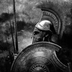 Gladiator Tattoo, Inner Bicep Tattoo, Spartan Tattoo, Greek Mythology Tattoos, Tiger Tattoo Design, Combat Armor, Greek Warrior, Spartan Warrior, Warrior Tattoos