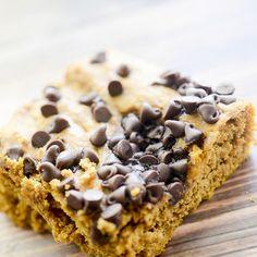 Weight Watcher's Pumpkin Chocolate Chip Bars