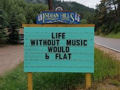 Funny Puns Signs by India Hills Community Center
