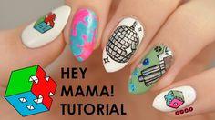 """EXO-CBX """"Hey Mama!"""" Inspired Nail Art Tutorial"""