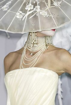 Dior - HC - SS 2007 - Design by John Galliano - @~ Mlle