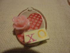 Pinkapotamus: DIY Mod Podge Valentine Pendant Necklace