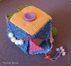 Вязание крючком - Логический кубик