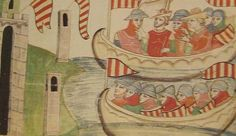 Arribada a Sicília de les tropes de Pere II durant les Vespres Sicilianes (1282).