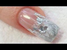 Ongle en Gel Argenté Métallique Tutoriel par Naio Nails - YouTube