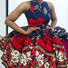 Prom dresses short,prom dresses simple,Ankara styles for women,Ankara dress,African print prom dress African Fashion Designers, Latest African Fashion Dresses, African Dresses For Women, African Print Dresses, African Print Fashion, Africa Fashion, African Attire, African Wear, Fashion Prints