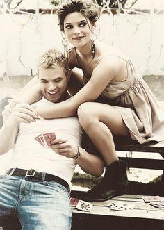Emmett Cullen (Kellan Lutz) & Alice Cullen (Ashley Greene) - 'The Twilight Saga'