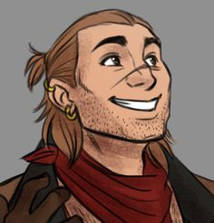 """""""gosh darn it Rachel all your Varric love has infected me /sobs gently."""" Posted on tumblr.com by ladyzolstice."""