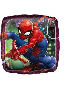 Palloncino di alluminio quadrato Spiderman™ su VegaooParty, negozio di articoli per feste. Scopri il maggior catalogo di addobbi e decorazioni per feste del web, sempre al miglior prezzo!