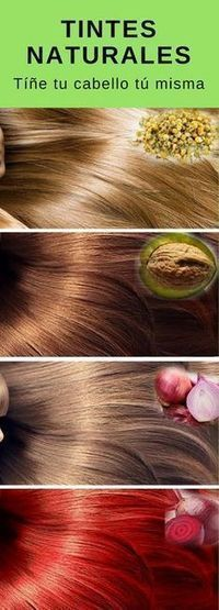 Get the hair color you want with these natural ingredients . - New Hair Styles Pelo Natural, Belleza Natural, Curly Hair Styles, Natural Hair Styles, Cabello Hair, Natural Shampoo, Tips Belleza, Beauty Recipe, Natural Cosmetics