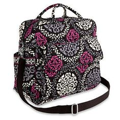 The Vera Bradley Convertible Baby Bag Is Perfect For Mom Who Likes To Change It Up This Can Be Handheld Or Worn Crossbody Over Shoulder As A