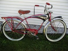 1953 Schwinn Phantom; one day I will have one just like this, only black..lol