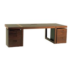 Vogel Desk by Etel Carmona | From a unique collection of antique and modern desks and writing tables at http://www.1stdibs.com/furniture/tables/desks-writing-tables/