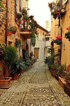 Old Italian Alleyway
