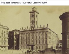Old Pictures, Old Photos, Budapest Hungary, Beautiful Buildings, Big Ben, Black And White, History, Architecture, City