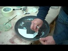Glazing a Plate (idea to implementation to variation) by John Britt