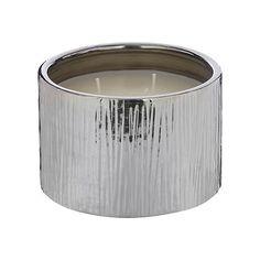 RJR.John Rocha Designer ceramic scratch effect fig scented candle- at Debenhams.com
