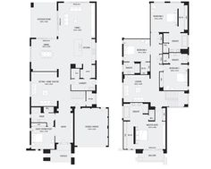 Monarch 58, New Home Floor Plans, Interactive House Plans - Metricon Homes - Melbourne