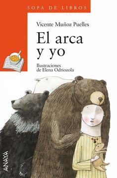 El arca y yo, de Vicente Muñoz Puelles. Ilustradora: Elena Odriozola (Premio Nacional de Ilustración 2015)