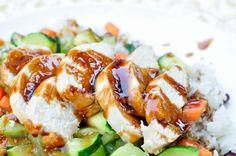 Oh SO Delicioso!: Rumbi Island Grill {copycat recipe} - another version of Hawaiian Teriyaki recipe