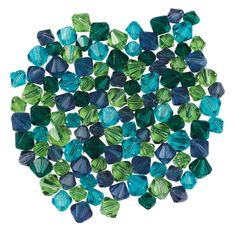 Winter Colors Crystal Bead Assortment - 6mm-8mm - OrientalTrading.com