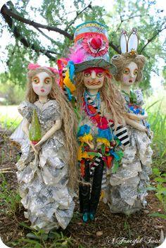 Art doll 33- V. Valencia.... A Fanciful Twist