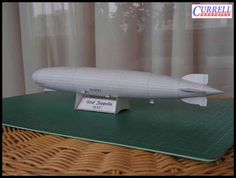 Papercraft Airship - Graf Zeppelin ~ Paperkraft.net - Free Papercraft, Paper Model, & Papertoy